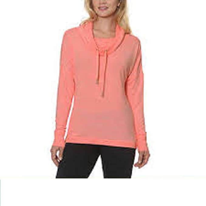 Image Unavailable. Image not available for. Color  Gerry Ladies Cowl Neck  Pullover Sweater ... b2c80b853