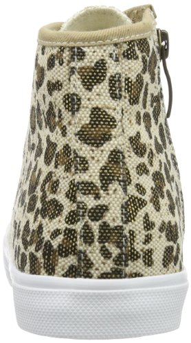 Lona Trend Alta Caña Mehrfarbig Tamaris Pantuflas Gold Mujer leopard De 302 Multicolor twXddqBI