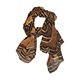 Scarfs for Women 3D Vintage Letter Lightweight Fashion Long Shawl Wraps
