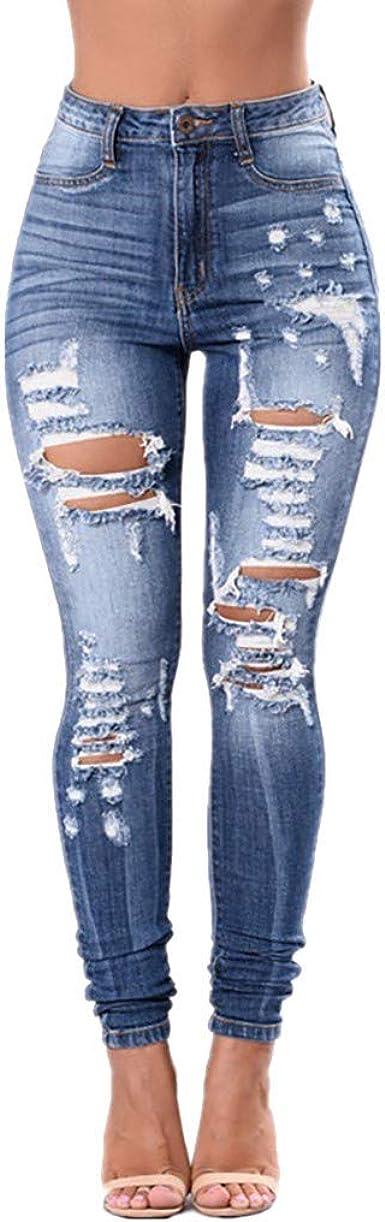 STRIR Vaqueros Mujer Push Up Tejanos Mujer Cintura Alta Pantalones ...