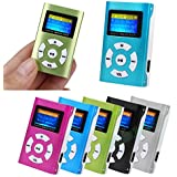 HighlifeS_Mp3 USB Portable Mini MP3 Player Metal LCD Screen Support 32GB Micro SD TF Card
