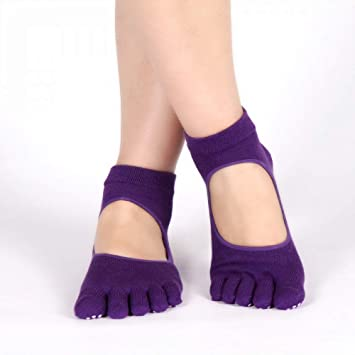 XRHYJW 3Pcs Calcetines De Yoga Calcetines De Yoga para Mujer Calcetines De Yoga para Mujer Bolsa