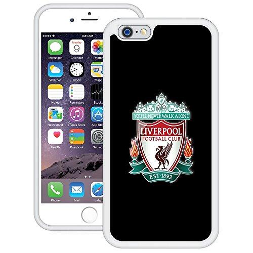 Liverpool | Handgefertigt | iPhone 6 6s (4,7') | Weiß TPU Hülle