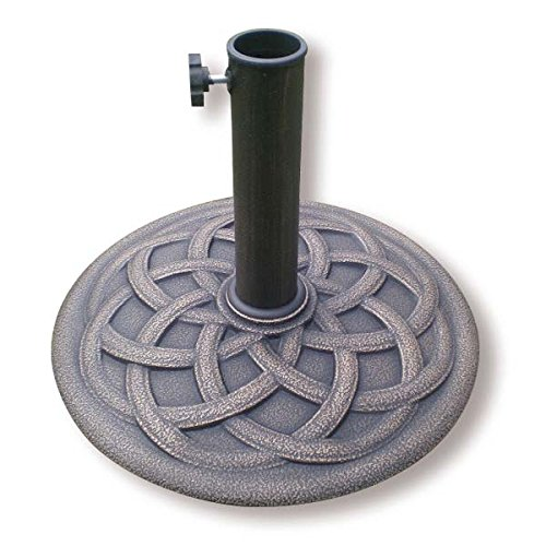 BACKYARD EXPRESSIONS PATIO · HOME · GARDEN 911554 Umbrella Base, Grey