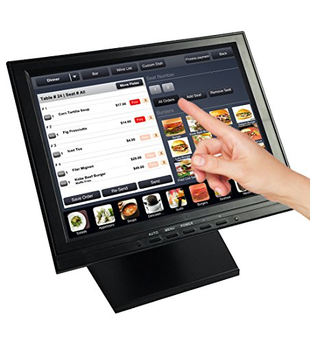resoution touch tft touchscreen monitor