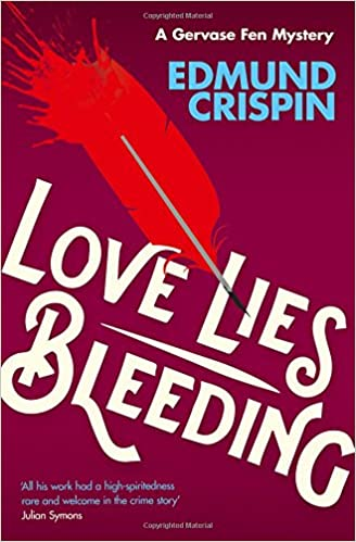Image result for edmund crispin love lies bleeding