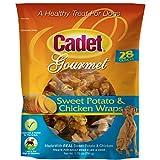 Cheap Cadet Chicken & Sweet Potato Dog Treat Wraps, 28 Oz