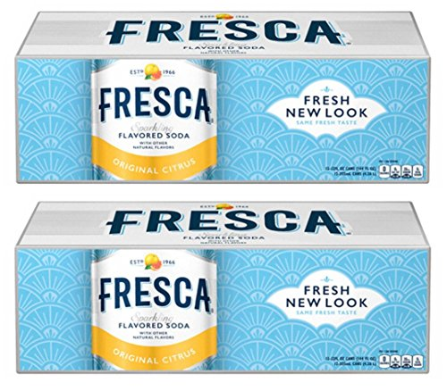 Fresca Original Citrus Soda, 12 Ounce (24 Cans)