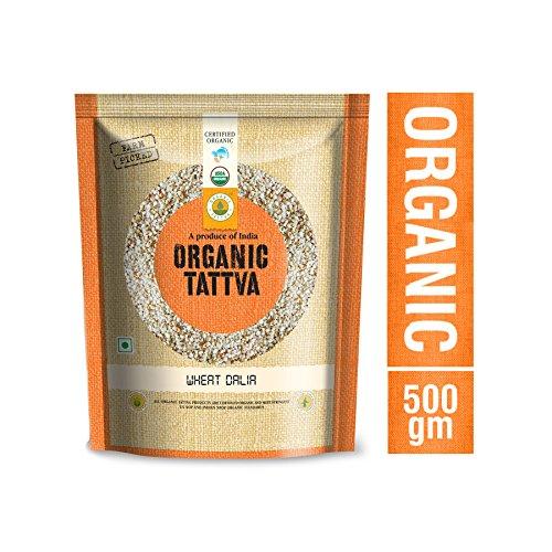 Organic Tattva Cracked Wheat/ Bulgur Dalia 500g Certified By USDA -