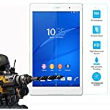 Sony Xperia Z3 Tablet Tempered Glass, FoneExpert® Tempered Glass Crystal Clear LCD Screen Protector Guard & Polishing Cloth For Sony Xperia Z3 Tablet 8 Inch