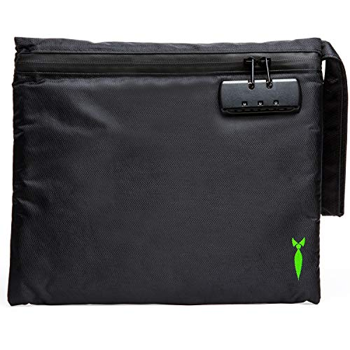 Discreet Smell Proof Bag 2.0 with Combo Lock - Odor Locking Storage Container