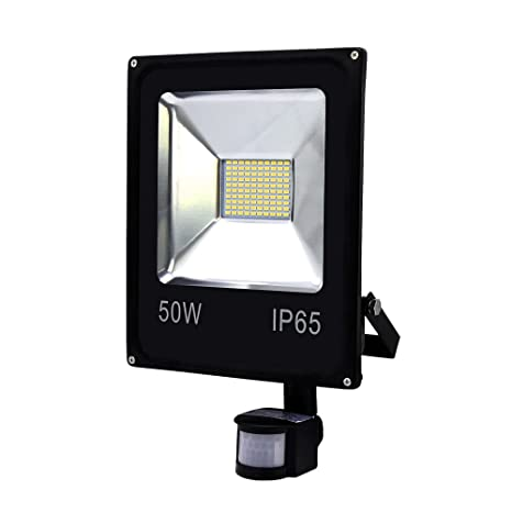 Foco led con sensor de movimiento