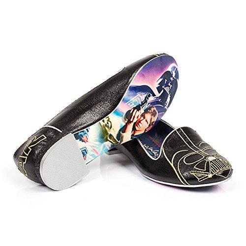 Uregelmessig Valg Kvinners Uregelmessig Valg Star Wars Darth Vader Womens Dagdriver Størrelse 7,5