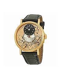 Breguet Tradition Automatic Skeleton Dial 18 kt Rose Gold Mens Watch 7027BRR99V6