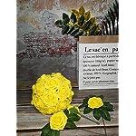 J-Rijzen-Jing-Rise-Artificial-Flowers-50pcs-Real-Touch-Yellow-Fake-Roses-Form-Flowers-for-Bride-Wedding-Bouquet-Flower-Garland-Floral-Centerpieces-Table-Arrangements-Home-Decorations-Yellow