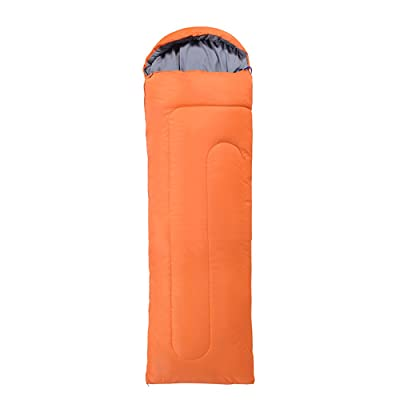 LWFB Sac de couchage Enveloppe / Imperméable / Extérieur et Intérieur Léger Portable / Sac de couchage rectangulaire en coton avec sac de compression (220 * 75cm)