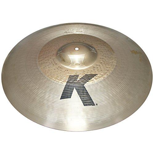 "Zildjian 21"" K Custom Series Hybrid Ride Medium Drumset Cast Bronze Cymbal with Mid Pitch and Blend Balance K0999 - Lightly Used"