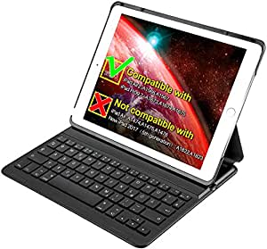 inateck ipad air 2 ipad pro 9 7 inch keyboard cover with intelligent switch and. Black Bedroom Furniture Sets. Home Design Ideas
