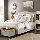 Hampton Hill Corfu Comforter Set, King, White