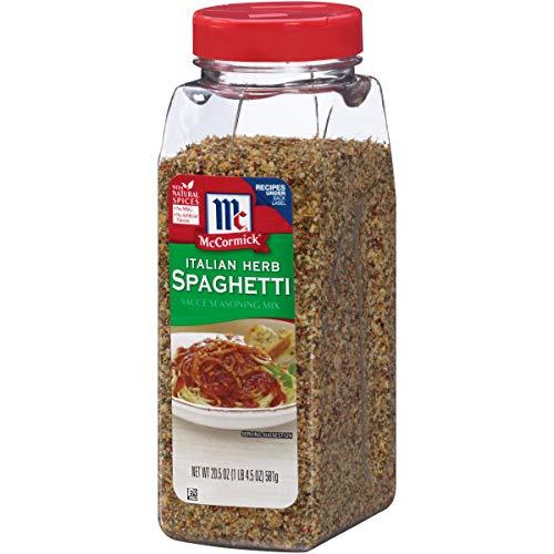 McCormick Italian Herb Spaghetti Sauce Seasoning Mix, 20.5-Ounce ()