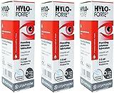Hylo-Forte Intensive Lubricating Eye Drops x 3 TRIPLE Pack