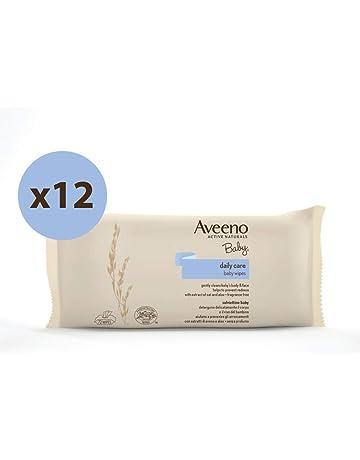 Aveeno Baby - Toallitas para bebé - 12 paquetes de 72 unidades
