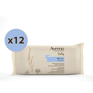 Aveeno Baby - Toallitas para bebé - 12 paquetes de 72 unidades: Amazon.es: Bebé