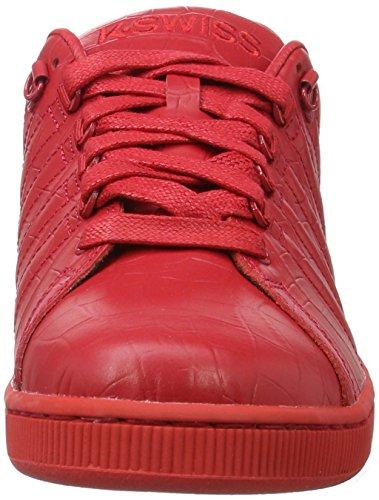 III Juniper Red mit 639 K Tt Lozan Ribbon Rot Croco Schwarz Sneakers Swiss Schnürung qTT7YE