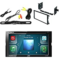 JVC KW-V640BT 6.8 2-Din Car DVD Player Receiver w//Weblink/SiriusXM/Bluetooth GMK422 DOUBLE DIN MULTI-KIT FOR SELECT 1990-2012 GM SUZUKI HONDA TOYOTA