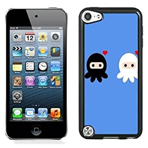 New Personalized Custom Designed For iPod Touch 5th Phone Case For Cartoon Octopus Lovers Phone Case Cover