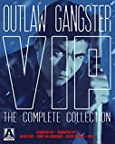 Outlaw Gangster VIP: The Complete Collection (6-Film Limited Edition Box Set feat. Gangster VIP 1 & 2, Heartless, Goro the Assassin, Black Dagger, and Kill!) [Blu-ray + DVD]