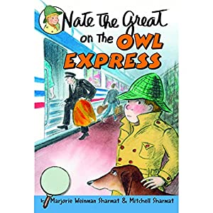 Nate the Great and the Owl Express Audiobook