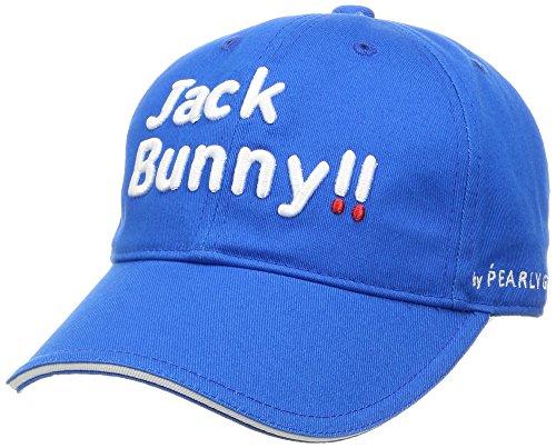 (ジャックバニー バイ パーリーゲイツ) JACK BUNNY by PEARLY GATES [ 男女兼用 ] 定番 ツイル ロゴ キャップ (サイズ調整可能 、57cm) 262-7987994