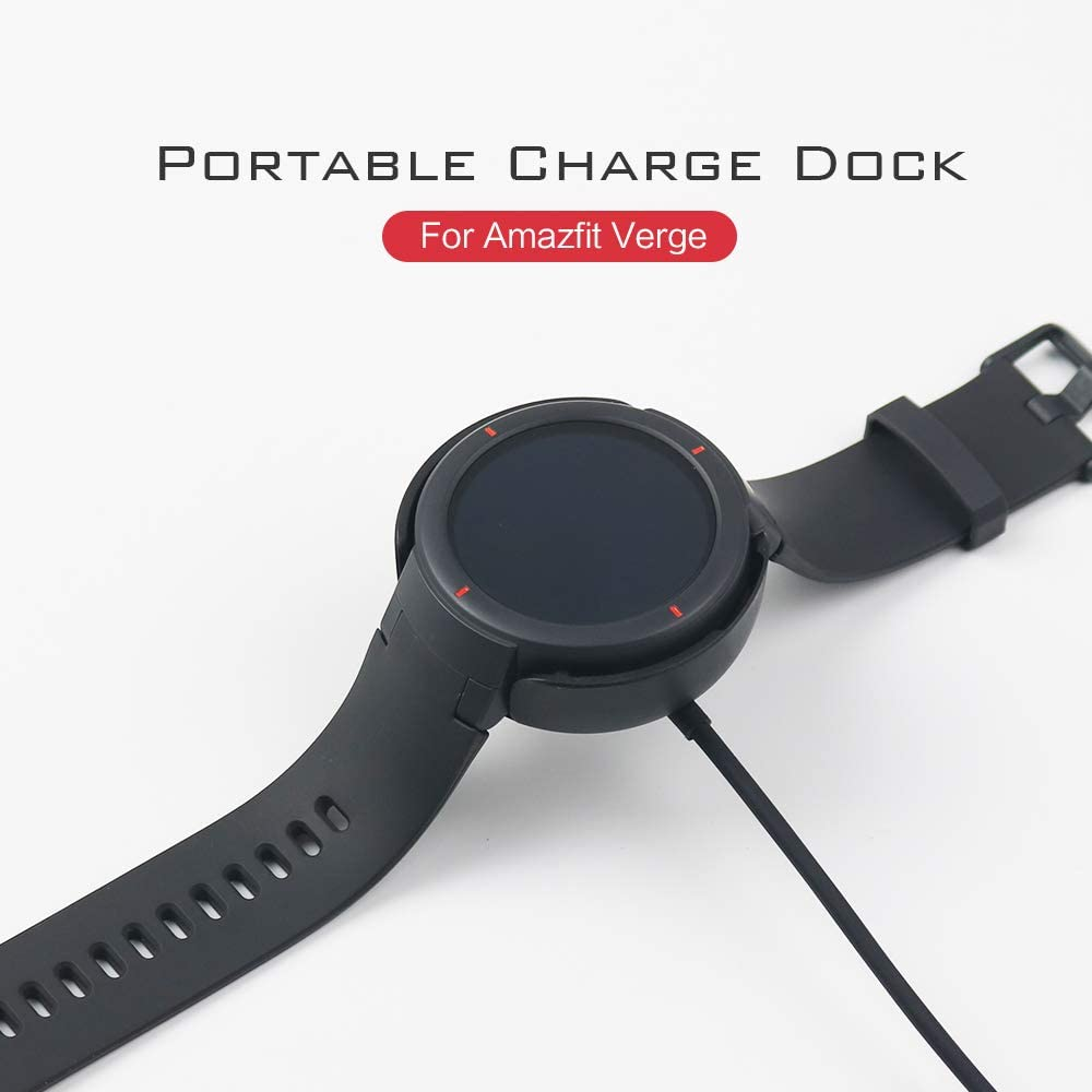 1 Pack-Charger SIKAI Replacement Charger for Amazfit Verge Portable Magnetic Charging Dock Compatible with Amazfit Verge 3rd Gen Smartwatch