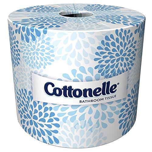 Kimberly-Clark Professional 17713 Kleenex Cottonelle Bathroom Tissue with  60 Rolls per Case, 4.09
