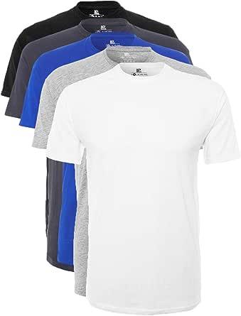 Lower East Le105 Camiseta Hombre (Pack de 5)