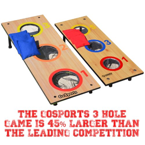 how to build three hole washer toss game