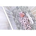 Adjustable-Swaddle-Blanket-Infant-Baby-Wrap-Set-3-Pack-0-3-Months-by-Elys-Co-Blush-Pink-0-3-Months
