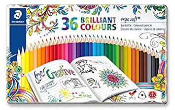 StaedtlerJohanna Basford Ergosoft Triangular Colouring Pencil