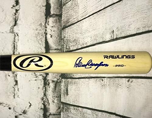 Dave Concepcion Autographed Autographed Signed Rawlings Big Stick Blonde Bat JSA ()