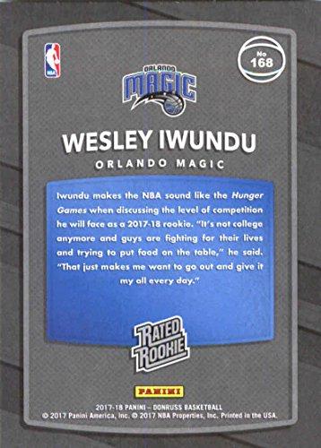 Amazon.com: 2017-18 Donruss #168 Wesley Iwundu RC Rookie ...