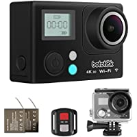 Bototek THK-00001 4K Action Camera, Ultra HD Waterproof Wi-Fi DV Camcorder 16MP