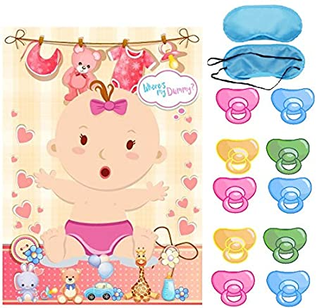 Amazon.com: Baby Shower Party Favors and Game - Pin The ...