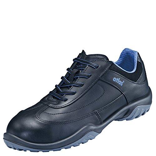 Atlas Chaussures basses de sécurité SN 20Black Large, S2, 10, Taille 41