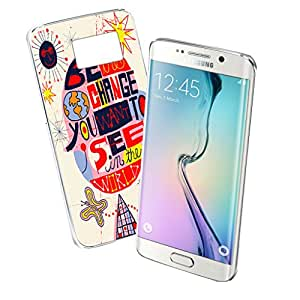 Be the Change You Want to See - Samsung Galaxy S6 Edge Clear Cover Case