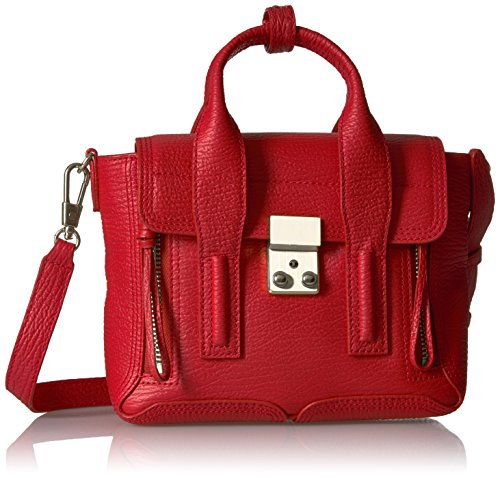 3.1 Phillip Lim Pashli Mini Satchel(RED) by 3.1 Phillip Lim