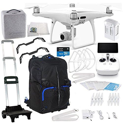 DJI Phantom 4 PRO+ Plus Quadcopter Starter Kit Travel Backpack Bundle by SSE (Image #7)