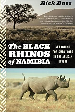 book cover of The Black Rhinos of Namibia
