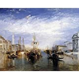 Posters: Joseph William Turner Poster Art Print - Grand Canal, Venice, 1835 (20 x 16 inches)