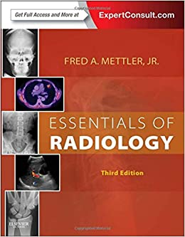 >>HOT>> Essentials Of Radiology, 3e (Mettler, Essentials Of Radiology). cheap quality current horas Billy focused
